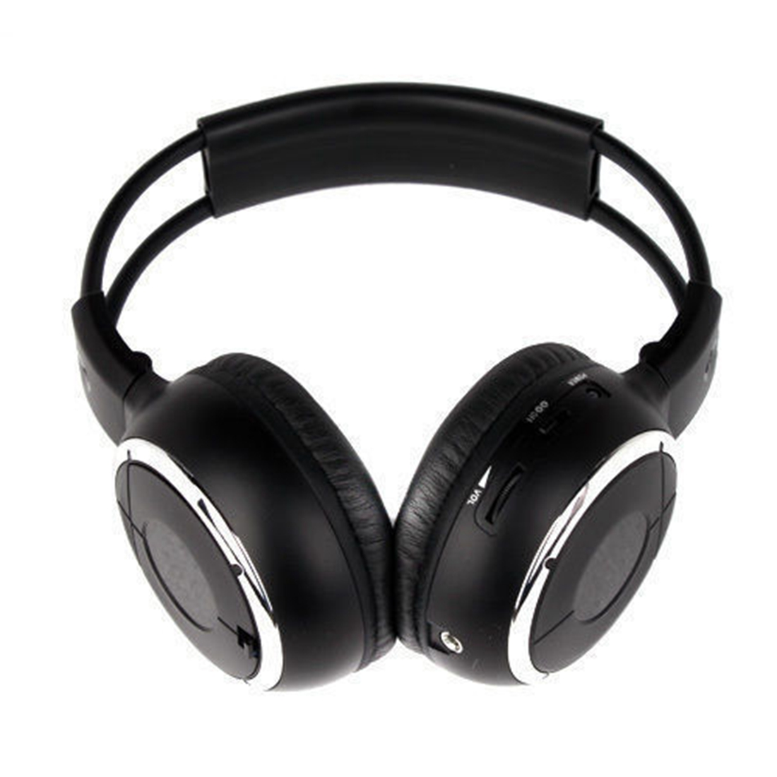 ФОТО Top Deals HQ 4PCS IR Wireless Headphones Headsets Earphone for Car DVD Player L Flip Down&Headrest
