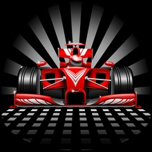 Laeacco Cartoon Cool Racing Car Baby Birthday Party Photography Backgrounds Customized Photographic Backdrops For Photo Studio