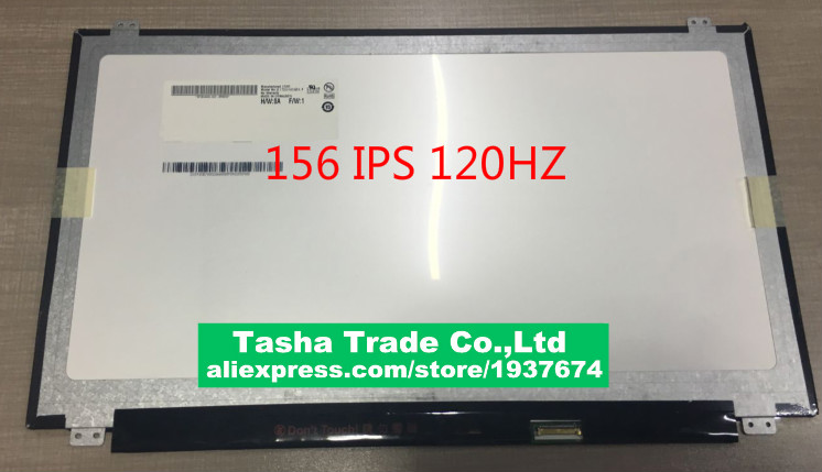 B156HAN04.3 15.6 3D LCD Screen B156HAN04 FHD edp 30pin 120HZ grassroot 15 6 inch b156htn05 1 led lcd screen for alienware 15 r3 1920x1080 fhd 120hz display 3d edp 30pin replacement screen