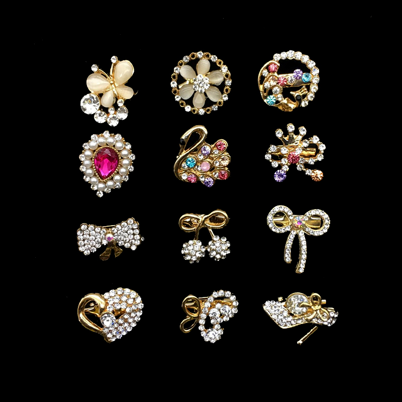 452dd8ed4c US $9.18 |Mini Hijab Pins Brooches Random Designs Wholesale 12PCS/Card  Crystal Muslim For Women Pins Hijab Pins Gold Pins Mixed Designs-in  Brooches ...