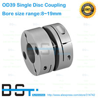 Dia 39mm Motor Shaft Coupling Single Disc Coupling 1 4N M 8mm 10mm 11mm 12mm14mm 15mm