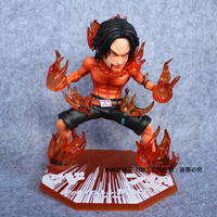 One Piece of Piece King Reward C Reward Fire Boxing Yan Emperor Burning Fruit GK Ace Figure Model Toy
