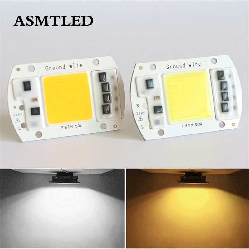 High Power LED Matrix For Projectors 20W 30W 50W 100W 150W 200W 220V DIY Flood Light COB LED Diode Spotlight Outdoor Chip Lamp