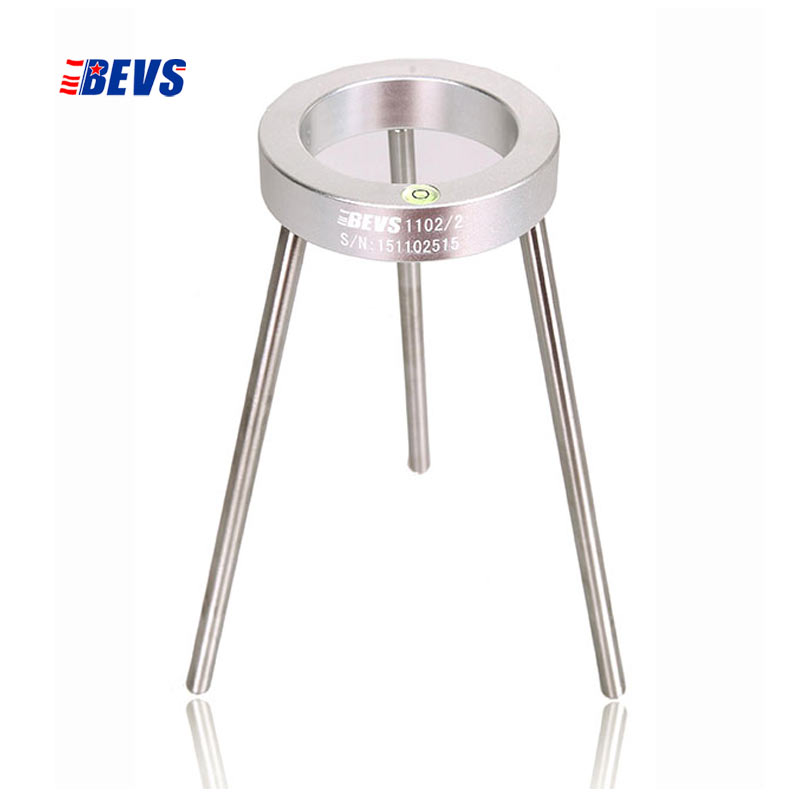 BRAND BEVS  Stand for viscosity flow dip cups  with level bubble  Bracket Support Holder   for cups of Ford  Afnor  ISO Cup DIN