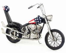 Free Shipping Handmade Iron Antique Easy Rider Motorcycle Model 1969