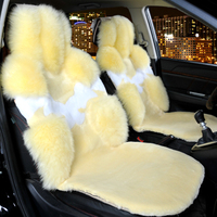 Car Seat Cover Car Seat Covers Accessories Interior Wool Warm For Buick Excelle Xt Lacrosse Regal