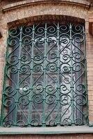 Ferforje çelik cam pencere, metal cam pencere ferforje windowswindow demir pencere ızgara tasarımı hc-w19