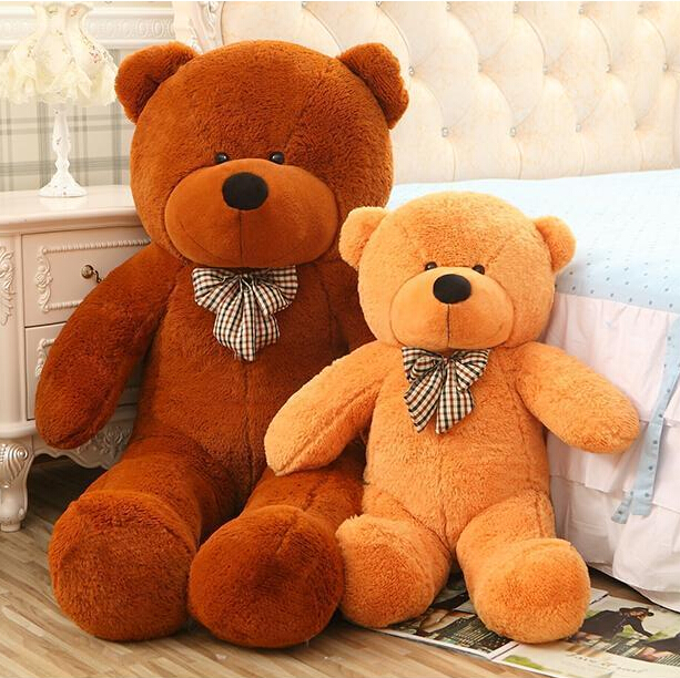 1pcs 80cm Plush toys large size0.8m / teddy bear 80cm/big 4 colors embrace bear doll /lovers/christmas gifts birthday gift стоимость