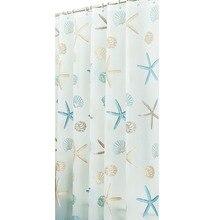 Umweltfreundliche PEVA Moldproof Wasserdichtes Badezimmer-Bad-Duschvorhang-Badezimmer-Produkt-Badezimmer-Vorhänge mit 12pcs Haken