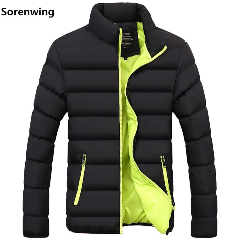 2018 Männer Winter Jacke Mode Herren Jacken Und Mäntel Baumwolle Parkas Männlichen Casual Thermische Jacke Marke Kleidung Warme Mantel 4xl 965