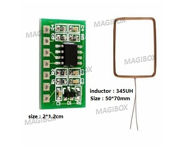 RFID 125kHz ID Card Reader Embedded Module Circuit Modules UART Interface