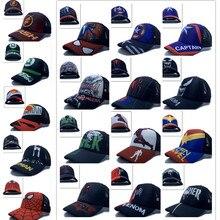 1 шт., Мстители, Халк, Бэтмен, Человек-паук, Железный человек, милая модная Солнцезащитная шляпа для мальчиков, повседневная детская бейсбольная кепка вечерние подарки
