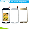 100% probado negro blanco y color de oro para samsung galaxy grand neo plus i9060i touch digitalizador de pantalla con el logotipo duos envío gratis