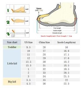 Image 5 - בנות מגפיים מעל הברך מגפי ילדי נעלי סתיו חורף אופנה בנות נסיכה גבוהה מגפי קטיפה חם ילדי כותנה נעליים