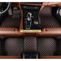 Car Floor Mat For BMW F10 F11 F07 E39 E60 E61 GT 520i 523i 525i 528i 530i 535i 540i 520d 525d 530 Car Styling Floor Mats Carpets
