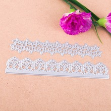 цена на Flower Bar Frame Metal Cutting Dies for DIY Scrapbooking Photo Album Decoretive Embossing Stencial Cards Making