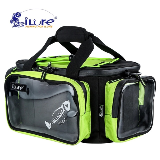 Ilure Large Fishing Sports Bag 40cm 20cm Multifunctional Waterproof Tackle Lure