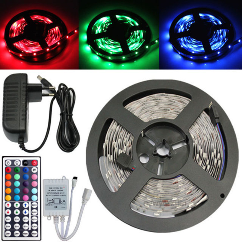 Mini Set 5050 RGB / wit / Warm wit / Rood / Blauw / Groen 150 LED SMD - LED-Verlichting