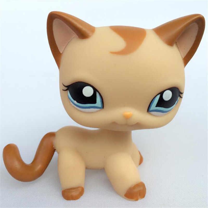 애완 동물 가게 Lps 장난감 고양이 서 희귀 Littlest 개 콜리 코커 스패니얼 그레이트 데인 닥스 훈트 원래 짧은 머리 새끼 고양이 크리스마스 선물