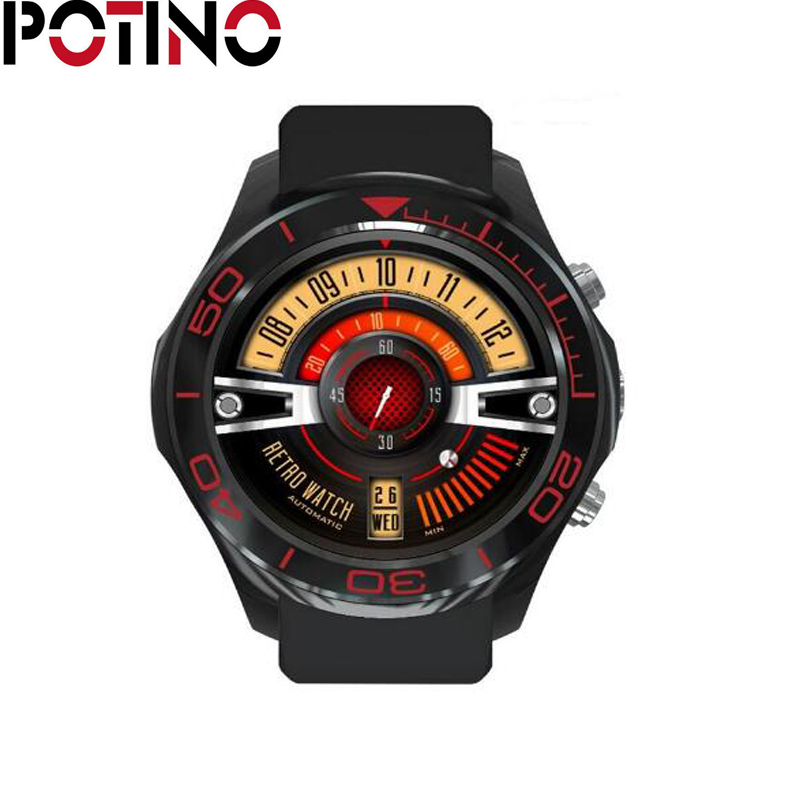 POTINO S1 3G Smart Watch Phone Bluetooth4.0 Android 5.1 smartwatch Wifi GPS Google map Heart Rate Monitor Wearable Device watch no 1 d6 1 63 inch 3g smartwatch phone android 5 1 mtk6580 quad core 1 3ghz 1gb ram gps wifi bluetooth 4 0 heart rate monitoring