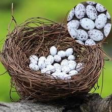 Micro Fairy Garden Decoration Miniature Figurine Toys Crafts DIY Accessories  Artificial Birds Nest Simulation Eggs Model