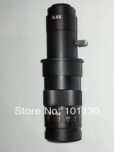 0.7-4.5X Monocular Zoom Video Microscope Industrial optical lens for PCB inspection,industry lens,Jewelry  цены