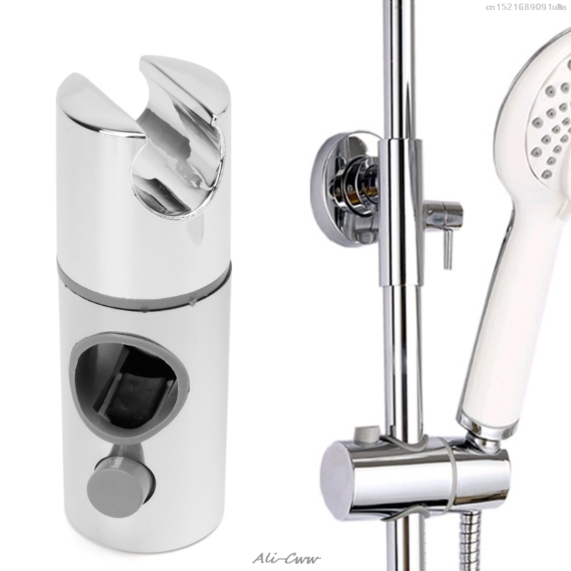 Chrome Plated Head Holder Hand Held Shower Bracket Holder For Bathroom Slide Bar