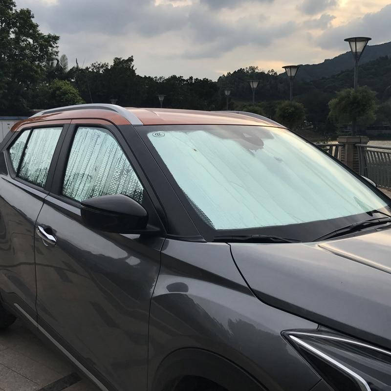 Insulate Car Windows: 6pc For NISSAN KICKS 2017 Sun Visor Sunscreen Heat