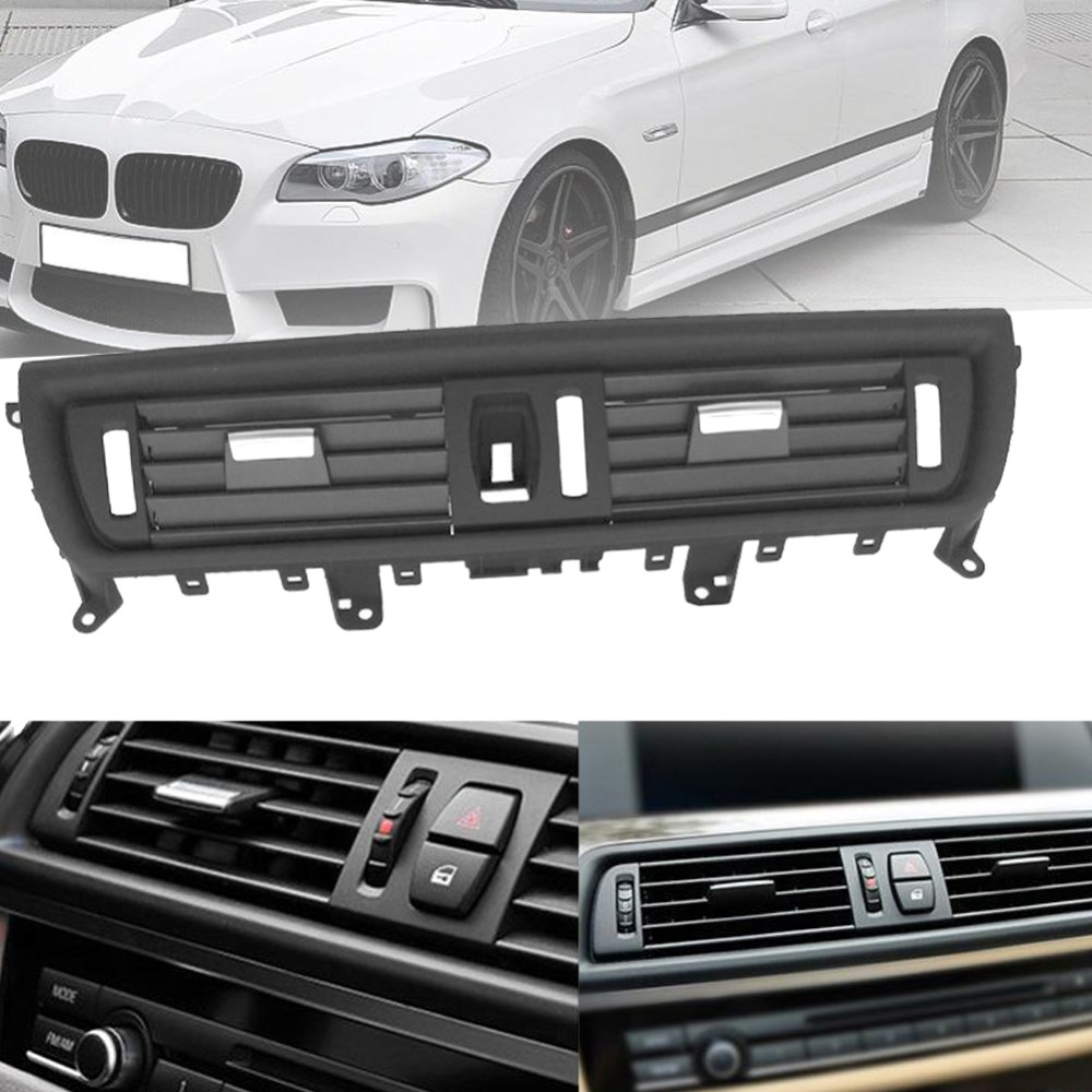 Center Console Rear AC Air Conditioning Outlet Vent Fit For BMW 520 523 525 528 530 535 F10 F18 Front Dash Panel Center #280009 at brake accelerator foot gas plate pedal parts for bmw f07 f10 f11 f18 e53 e60 e61 g30 g31 520 525 528 530 535 2009 2015