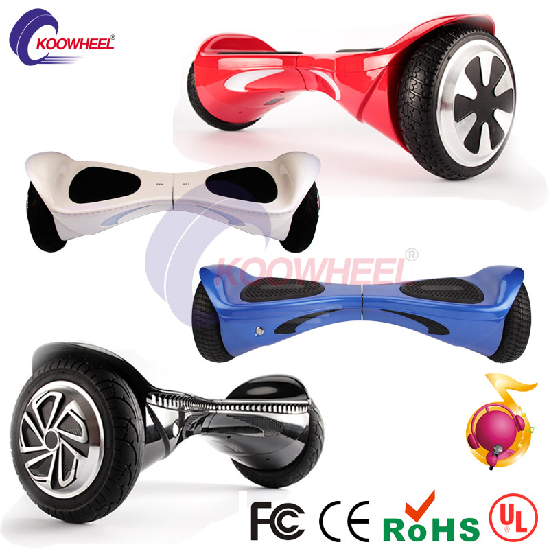 2016 factory wholesale 8 bluetooth hoverboard skateboard air 2 wheels self balancing electric scooter hover boards