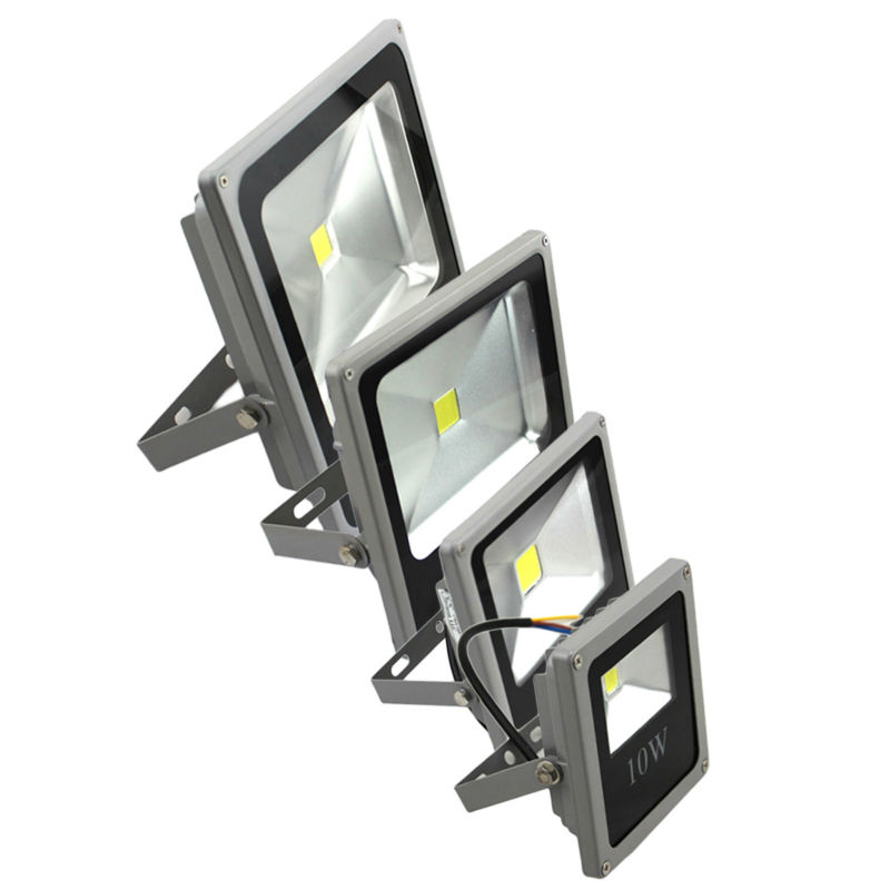 High quality  Waterproof  IP65 LED Flood Light 10w 20w 30w 50w Warm White / Cool White Reflector Outdoor Lighting Freeshipping 4pcs waterproof led flood light 200w warm cool white outdoor lighting led floodlight ac85 265v led reflector outdoor spotlight