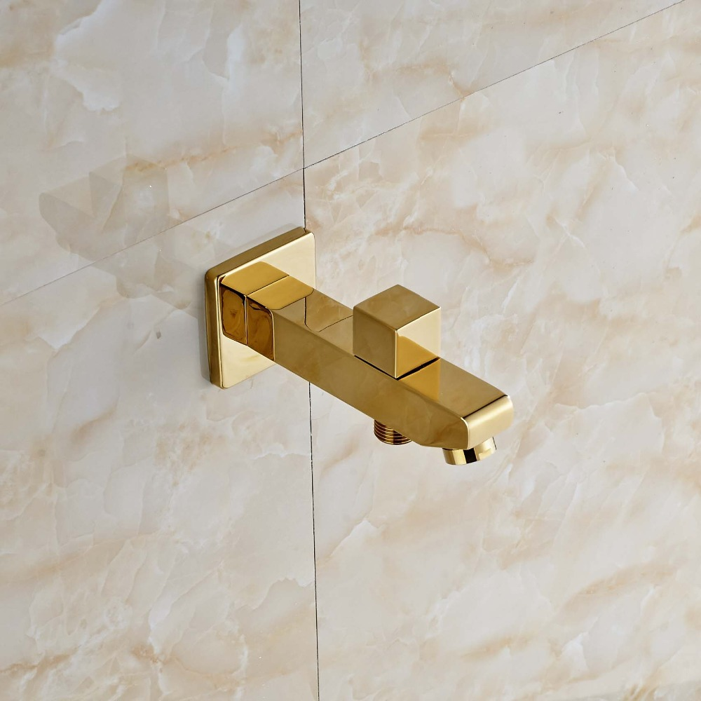 Modern Spout Bathroom Shower Replacement Shower Tap Spout Gold