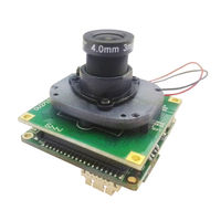 HJT HD 1080P 2.0MP IP Camera Network Module Motherboard IS Cutting Day and Night Sony HI3516C