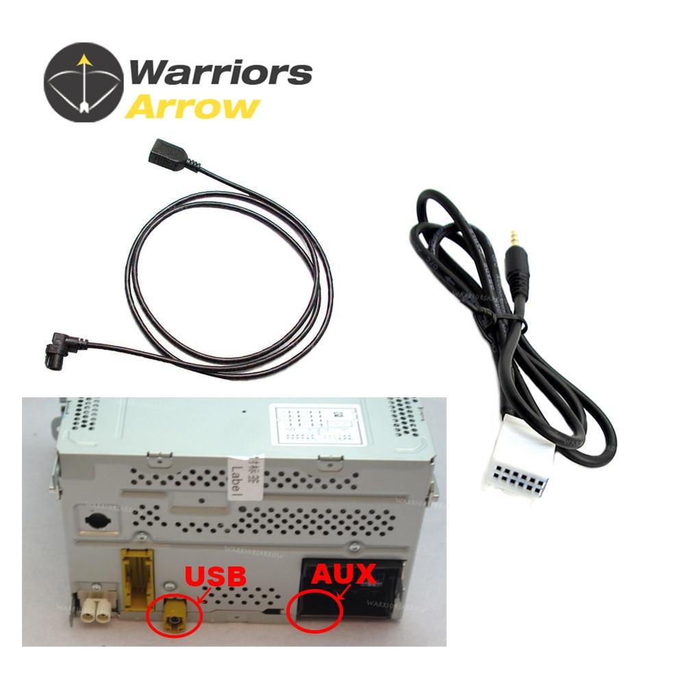 Warriorsarrow Bluetooth Module Wireless Microphone Wire Harness Vw 1999 Golf Headlight Wiring 3ad035190 For Jetta Passat Tiguan Car Radio Rcd510 Usb Aux Interface Cable