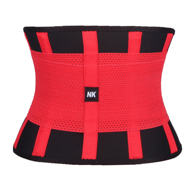 FLORATA Men Waist Trainer and Trimmer Sweat Belt Workout Body Shaper Slimming band for Figure Corset Binder Trans 2