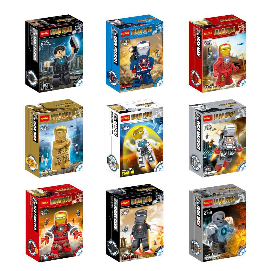 buy wholesale 180pcs building blocks super heroes iron man mark 1 35 16 iron patriot action figures minifigures children bricks toys from - Iron Man Coloring Pages Mark