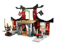 Ninjago 10319 Duel Ninjutsu Driving Range Model Building Kits Compatible With Legoe Ninjagoes Educational Toys For