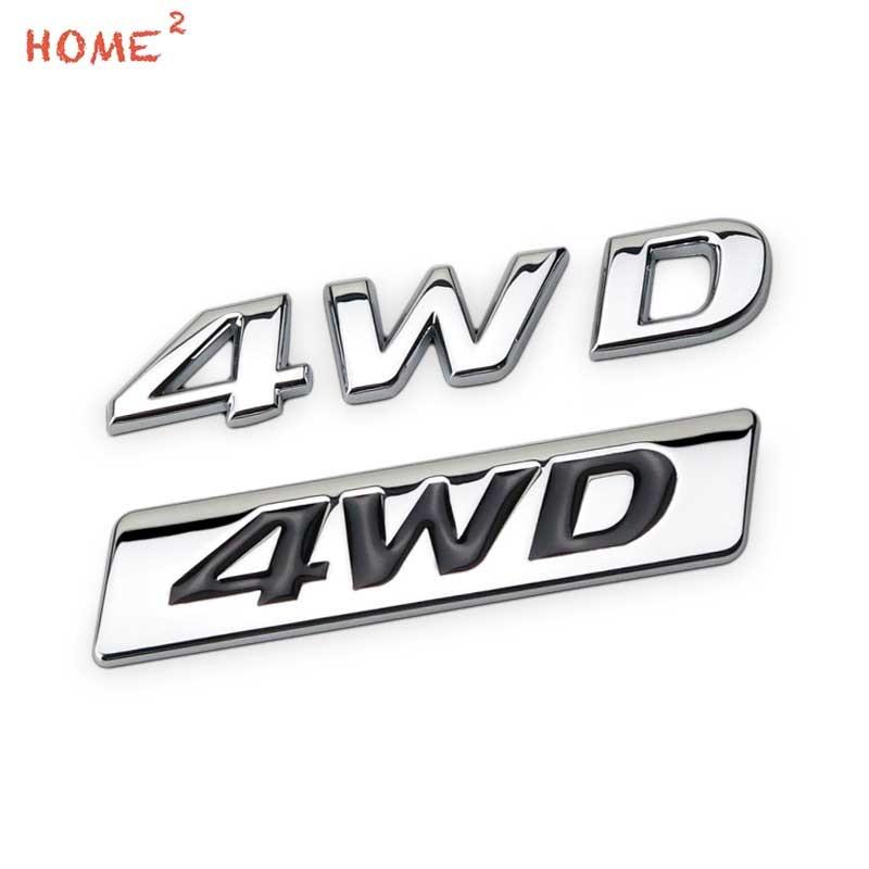 Aliexpress.com : Buy Car Sticker Four drive 4WD Logo for
