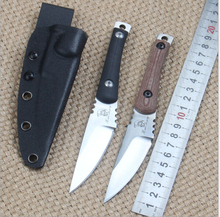 High Quality Small Rue Worker Fixed Blade Knife D2 Blade  Tactical Knives Camping Hunting knife Outdoor EDC Tools Survival Knife