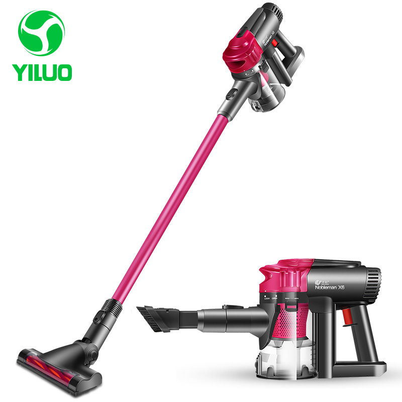 High power Low Noise Home Red Vacuum Cleaner Handheld Dust Collector household Aspirator Hand Held wireless Vacuum Cleaner puppyoo low noise home rod vacuum cleaner handheld dust collector household aspirator white