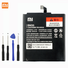 Xiaomi Original BM35 Phone battery For Xiaomi Mi 4C Mi4c 3080mAh аккумулятор для телефона craftmann bm35 для xiaomi mi 4c mi4c