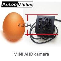 S860 MINI AHD camera for car Small square Fisheye Car 170 1.7mm 960P Camera Taxi Degree Wide Angle AHD Night Vision