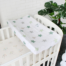 Baby Diaper Changing Pad Cover For Newborns 2 Layers Soft Breathable Pure Muslin Cotton Sheet For Standard Changing Table Pads