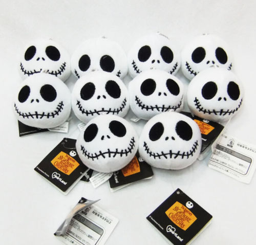 Mini The Nightmare Before Christmas JACK Plush Toy Pendant Doll Stuffed Animals Plush Doll Gifts For Children