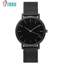 Excellent Quality Montres Femme Brand New Watch Women Ladies Watches Mesh Band Wrist Watch For Women Montre Homme De Marque Jan6
