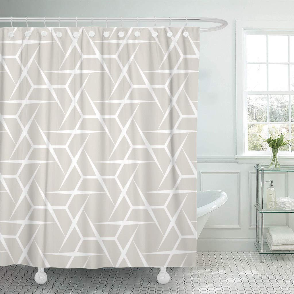 Shower Curtains Gray Barn Wood Door Waterproof Polyester