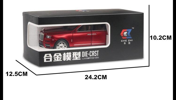 Rolls Royces Cullinan SUV Model Car with Metal Wheels, Sound & Lights 10
