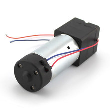 RC Model 12V 550 mini oxygen pump tank pump DC12V 550 motor high pressure air pump(China)