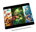 pokemon mouse pad locked edge gaming mousepad gamer mouse mat pad game computer Wholesale desk padmouse laptop large play mats