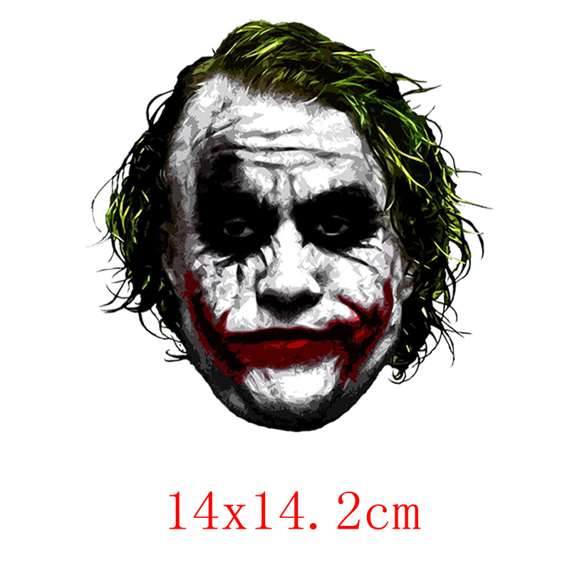 Image 2 - Three Ratels TRL744# 10.4x14.2cm joker why so serious funny car stickers car stickers and decals-in Car Stickers from Automobiles & Motorcycles